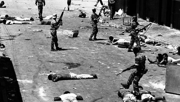 Репресиите на властите през 1989-а водят до хиляди жертви