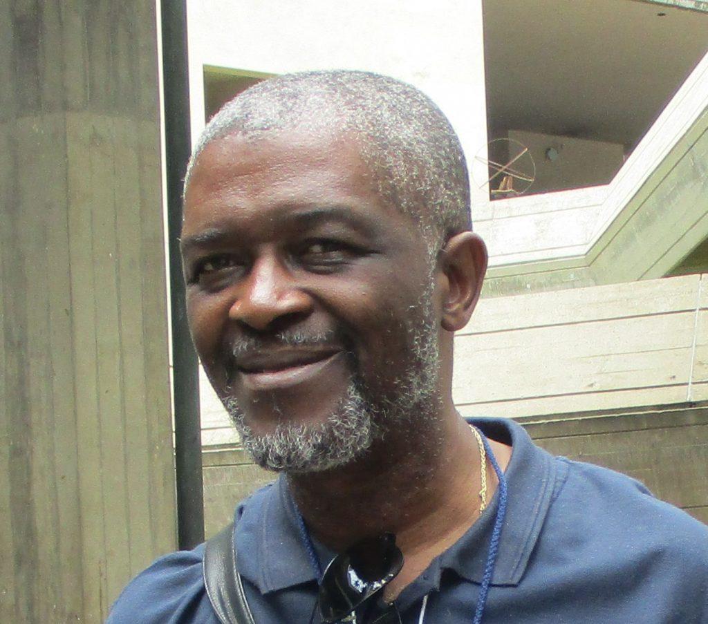 Роланд Лумумба много прилича на баща си–убития през 1961 г. символ на антиколониалната борба в Африка и първи министър-председател на независимо Конго Патрис Лумумба. Снимка: Къдринка Къдринова