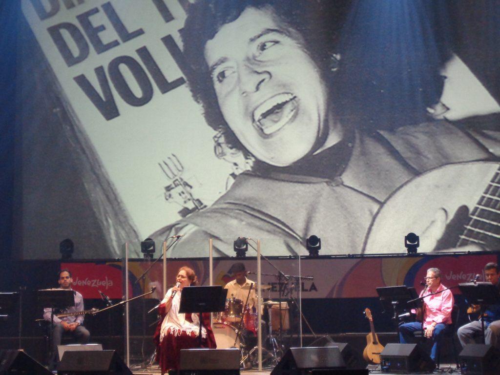 Лилия Вера също пя за Виктор Хара. Снимка: Къдринка Къдринова