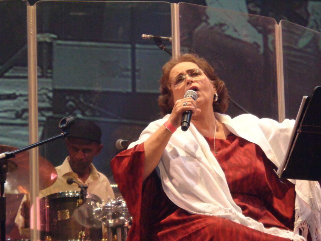 """Голямата венесуелска певица Лилия Вера е една от емблематичните участнички в латиноамериканското социално-културно движение """"Нова песен"""". Снимка: Къдринка Къдринова"""
