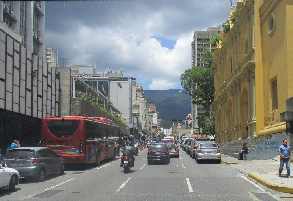 По улиците на Каракас. Снимка: Къдринка Къдринова