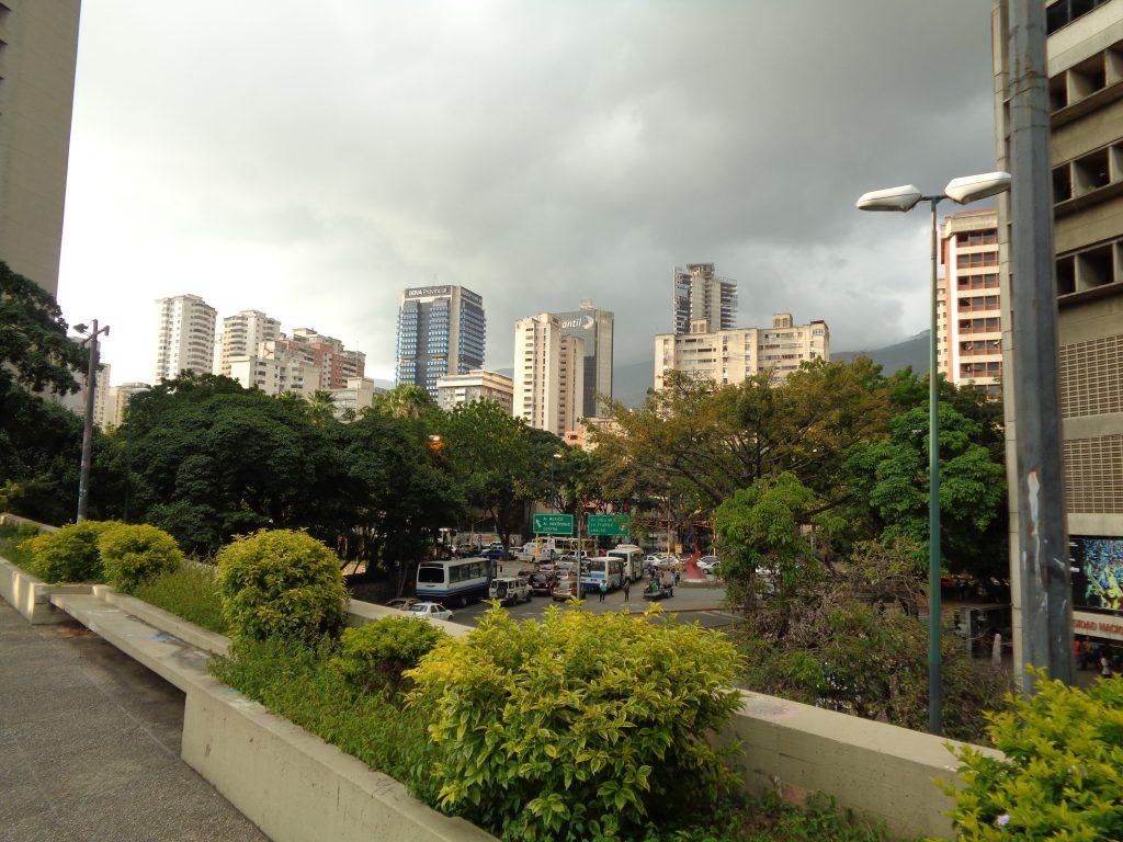 """Поглед към Каракас на излизане от театъра """"Тереса Кареньо"""". Снимка: Къдринка Къдринова"""