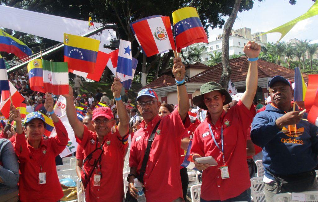 Боливарската революция не спира да ентусиазира голяма част от венесуелците. Снимка: Къдринка Къдринова