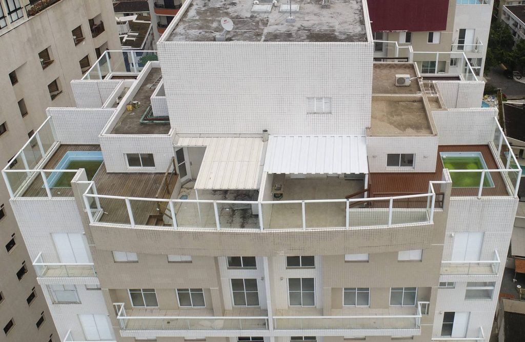 Прословутият апартамент на покрива на жилищен блок, който никога не е купуван от Лула, но заради който го осъдиха. Снимка: El Pais