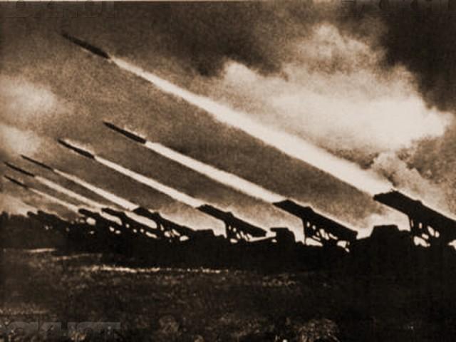 """Съветските """"катюши"""", използвани край Сталинград, всяват ужас сред хитлеристката войска. Снимка: РИА"""