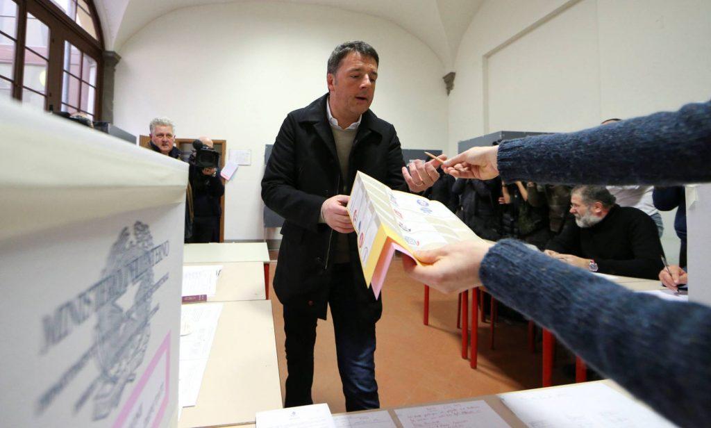 След каото закопа всичко ляво, което още беше останало в Демократическата партия, Матео Ренци я докара и до провал на сегашните избори. Оттеглянето му от лидерството ѝ беше логично и неизбежно. Снимка: El Pais