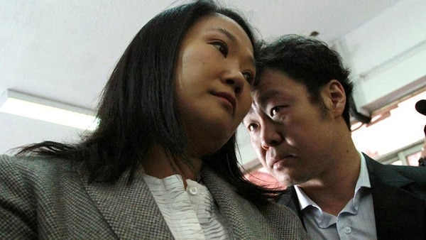 Кейко и Кенджи Фухимори в един по-добър етап от отношенията им. Снимка: infobae