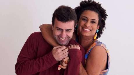 Марсело Фрейшо и Мариеле Франко. Снимка: Terra