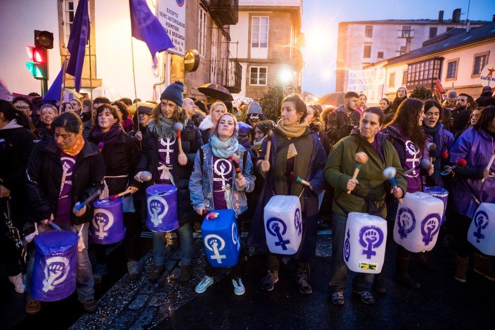 Част от шествието в Сантяго де Компостела. Снимка: El Pais