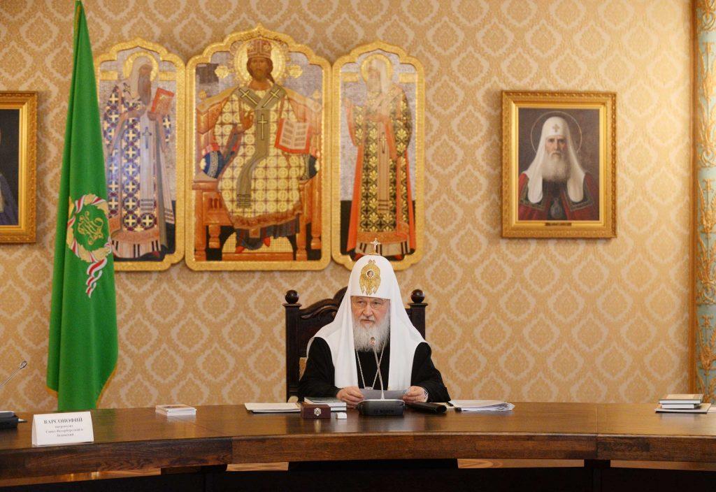 Руският патриарх Кирил. Снимка: patriarchia.ru