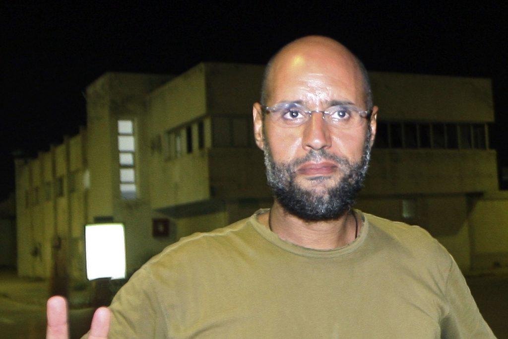 Синът на Кадафи–Сейф ал Ислам, не се е появявал публично от около три години. Снимка: ledernierpoint.info