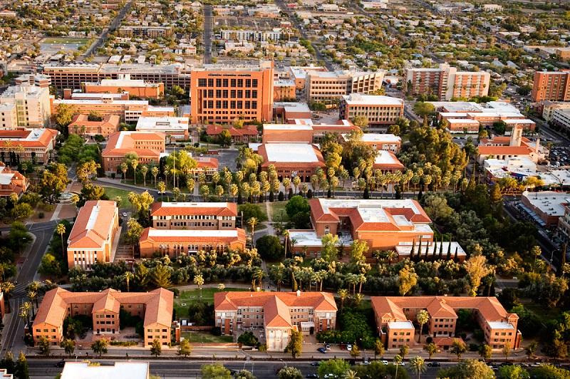 Комплексът на Университета на Аризона. Снимка: techparks.arizona.edu