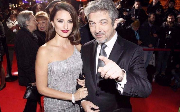Пенелопе Крус с аржентинския актьор Рикардо Дарин. Снимка: Periodico Lea online