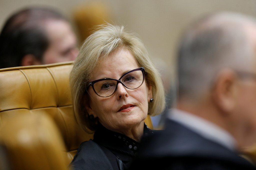 Съдийката Роза Вебер в последния момент обърна позицията си във вреда на Лула. Снимка: Veja