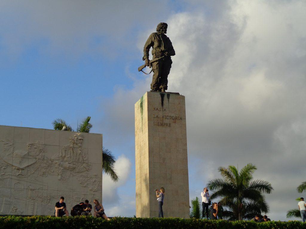 Паметникът на Че Гевара в Санта Клара. Снимка: Къдринка Къдринова