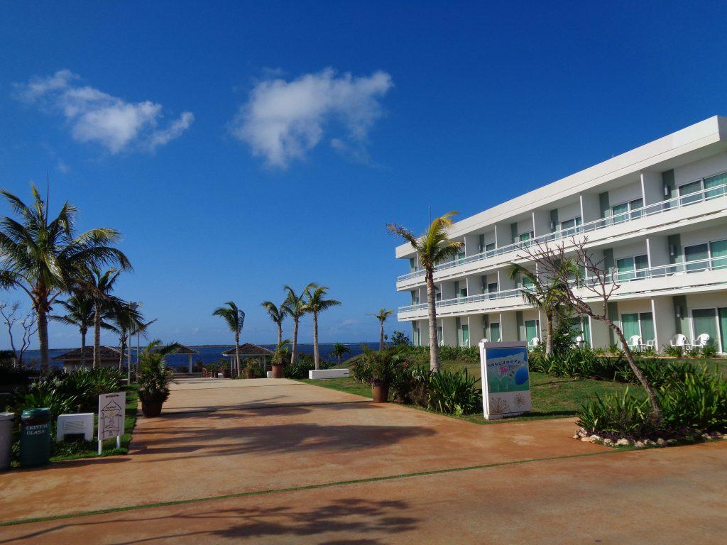 """Едно от 3-етажните блокчета на хотел """"Дауа"""" а кайо Санта Мария. Снимка: Къдринка Къдринова"""