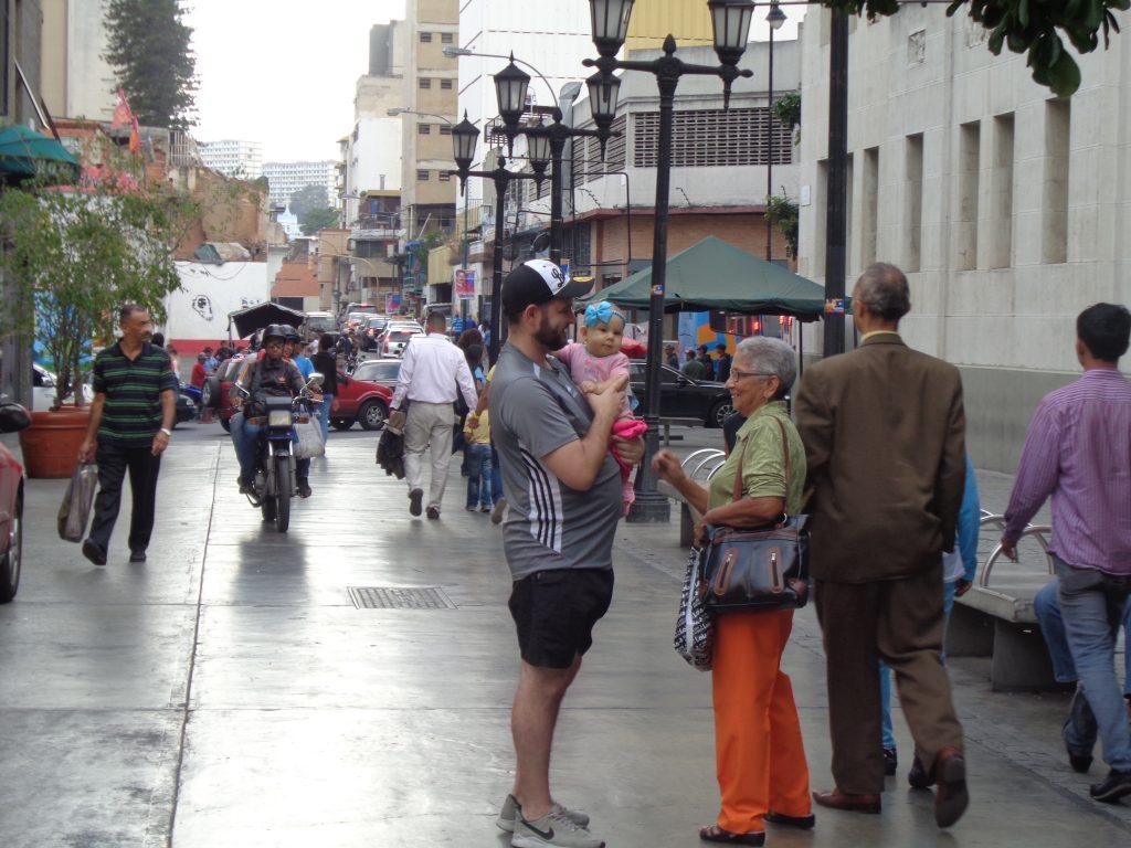 Венесуела иска мир, спокойствие и достоен живот за децата си. Снимка: Къдринка Къдринова
