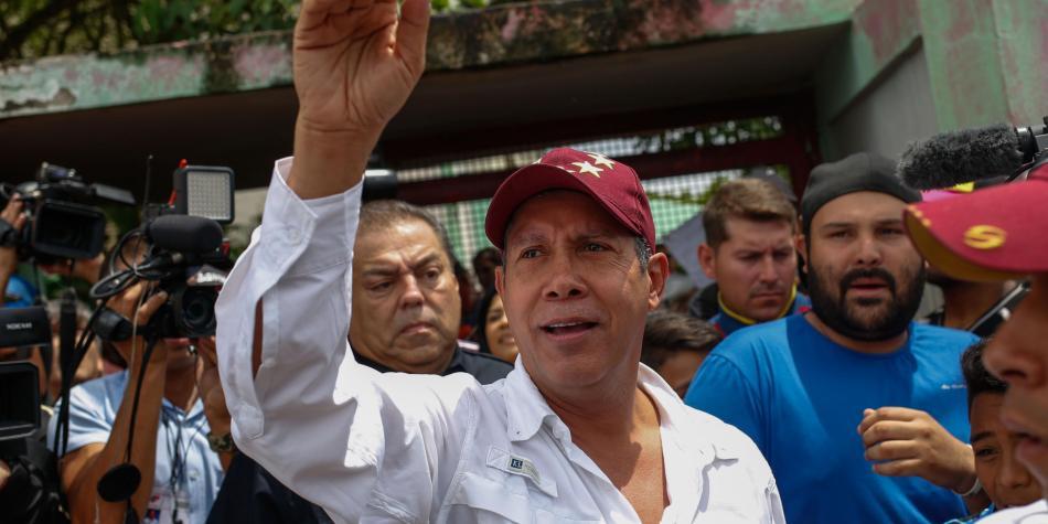 Енри Фалкон се смяташе за най-сериозния съперник на Николас Мадуро. Снимка: EFE