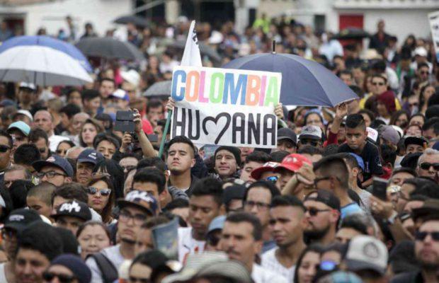 """Гласът на """"Хуманна Колумбия"""" тепърва ще се чува в политическия живот на страната. Снимка: Resumen Latinoamericano"""