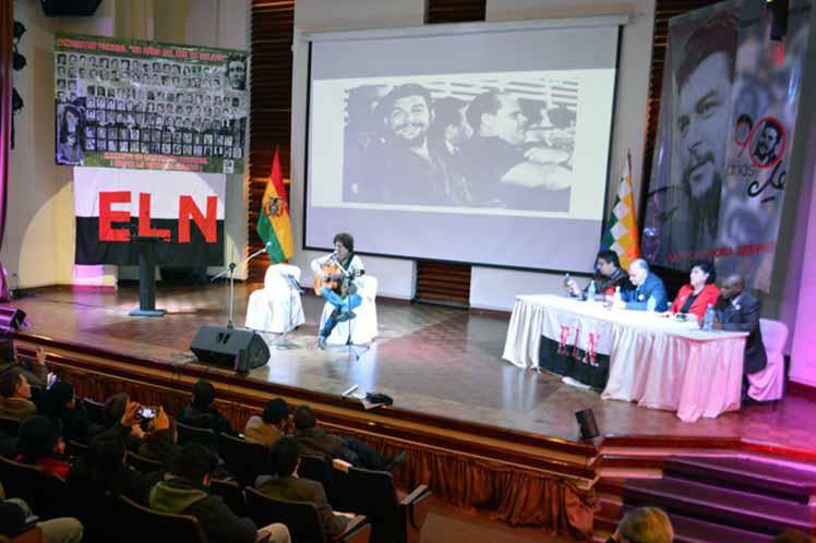 Момент от концерта в Ла Пас. Снимка: Prensa Latina
