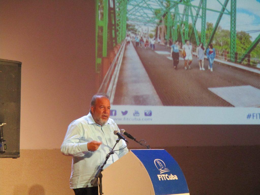 Министър Мануел Мареро Крус обявява Сагуа Ла Гранде за нова кубинска туристическа дестинация. Снимка: Къдринка Къдринова
