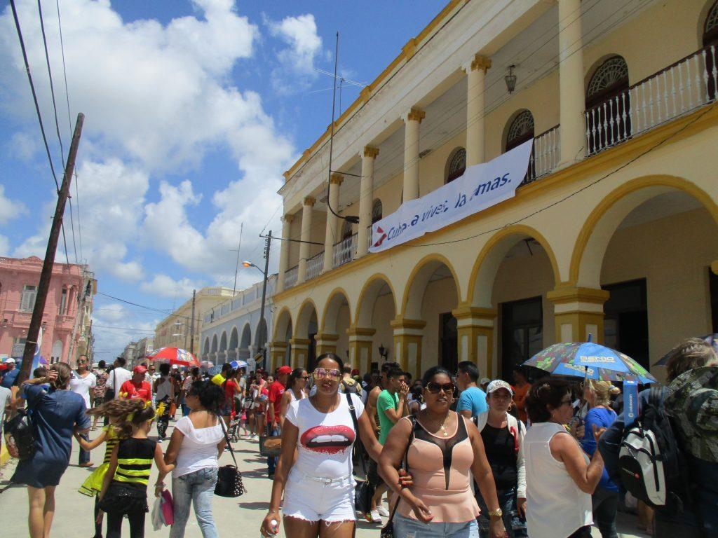 Из улиците на Сагуа Ла Гранде. Снимка: Къдринка Къдринова