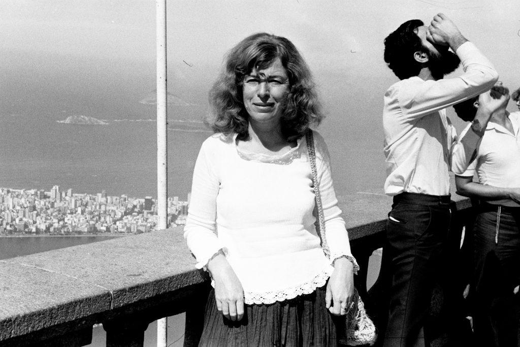 Пенка Караиванова в Рио де Жанейро, 1968 г. Снимка: семеен архив