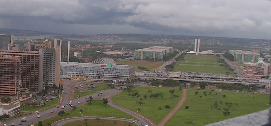 Съвременен панорамен изглед към административната част на столицата Бразилия. Снимка: Къдринка Къдринова
