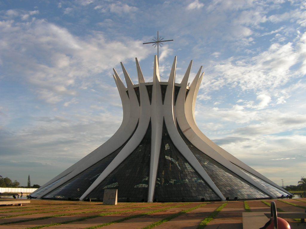 Така изглежда катедралата в град Бразилия сега. Снимка: Къдринка Къдринова