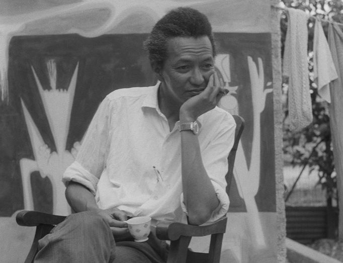 Вифредо Лам в Куба през 1956 г. Снимка: museolam