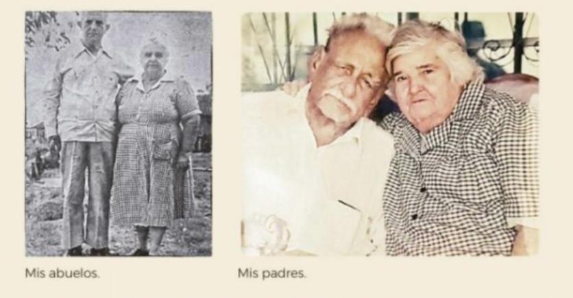 Бабата и дядото (вляво) и бащата и майката (вдясно) на Андрес Мануел Лопес Обрадор. Семейството му живее в рибарското селище Тепетитан. Снимки: El Universal