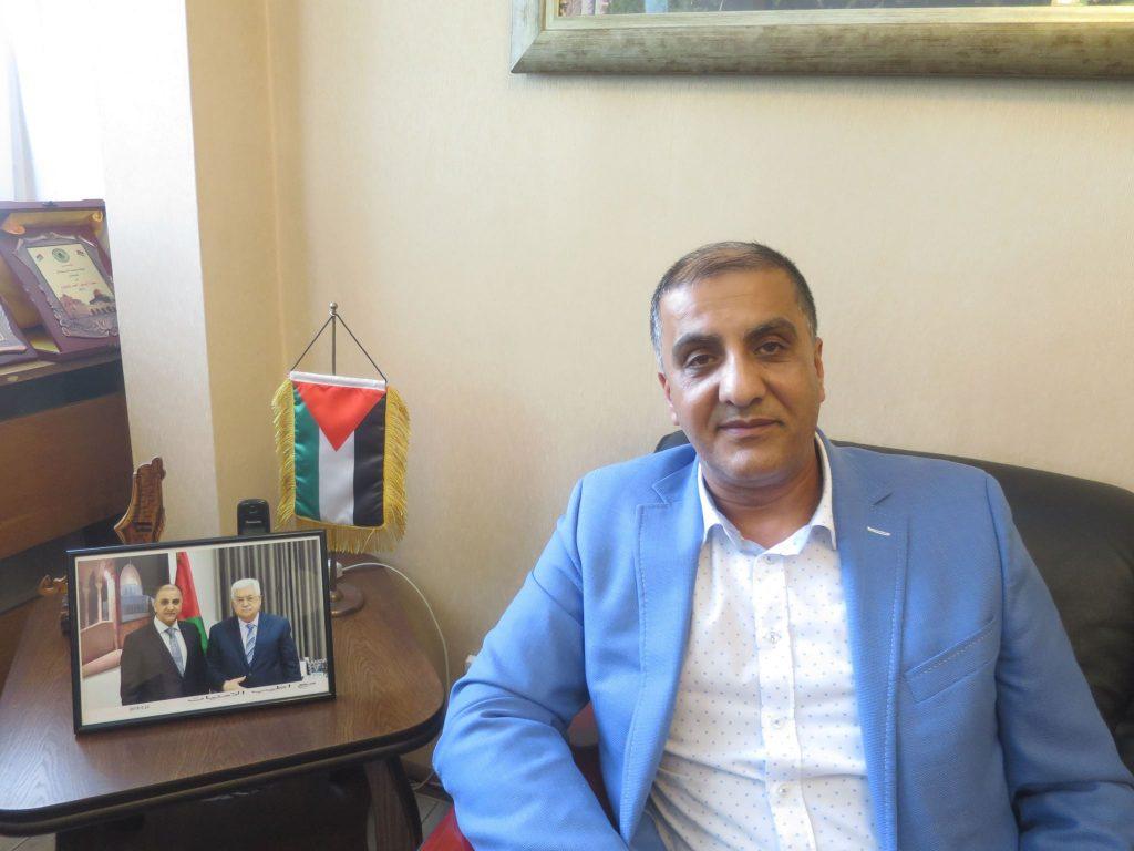 Н. Пр. Ахмад Ал-Мадбух, извънреден и пълномощен посланик на Държавата Палестина у нас. Снимка: Мая Ценова