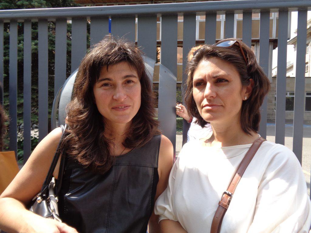 Люба Аладжем (вляво) и Весела Петрова. Снимка: Къдринка Къдринова