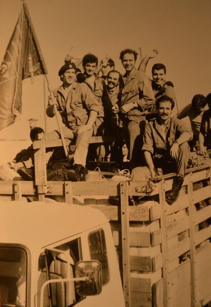 Българската бригада в Никарагуа от 1987 г. Снимка: Пламен Тодоров