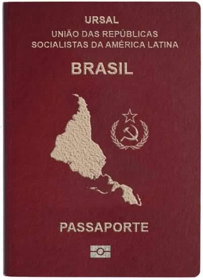 Това пък е предложението за паспорт на бразилското поделение на URSAL. Снимка: Туитър