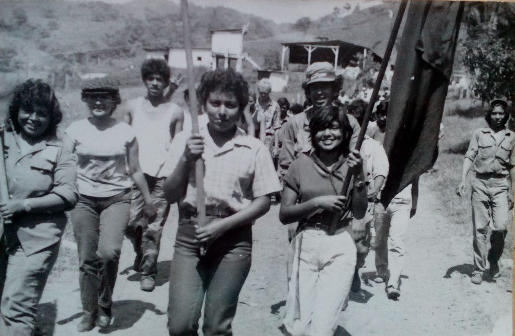 Никарагуанскте бригадири, които бяха с нас в Ел Улар, бяха ученици от гимназиите в градовете Матагалпа, Хинотега, Естели, Себако, Сан Исидро. Снимка: Къдринка Къдринова