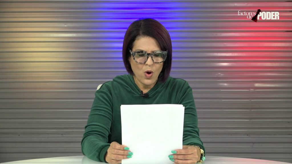 """Патрисия Полео чете прокламацията за """"Операция Феникс"""", зовяща към преврат във Венесуела. Снимка: YouTube"""