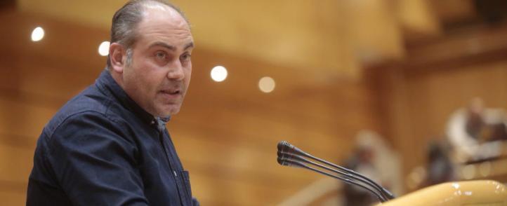 Сенаторът Жоан Коморера. Снимка: iniciativa.cat