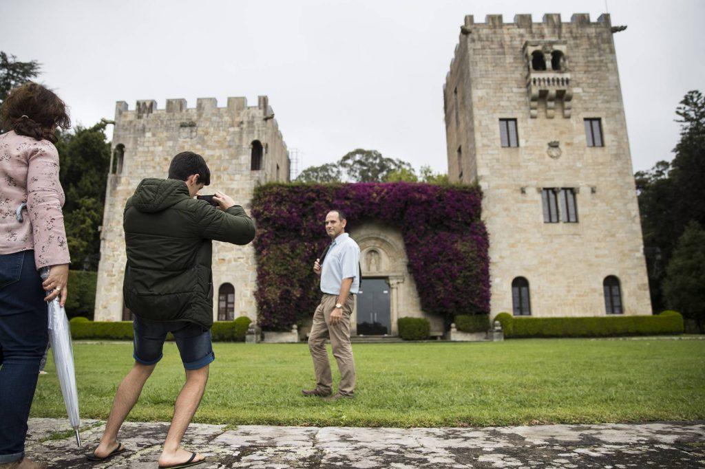 """Имението Меирас в Галисия, което се води собственост на Фондацията """"Франсиско Франко"""". Снимка: El Pais"""