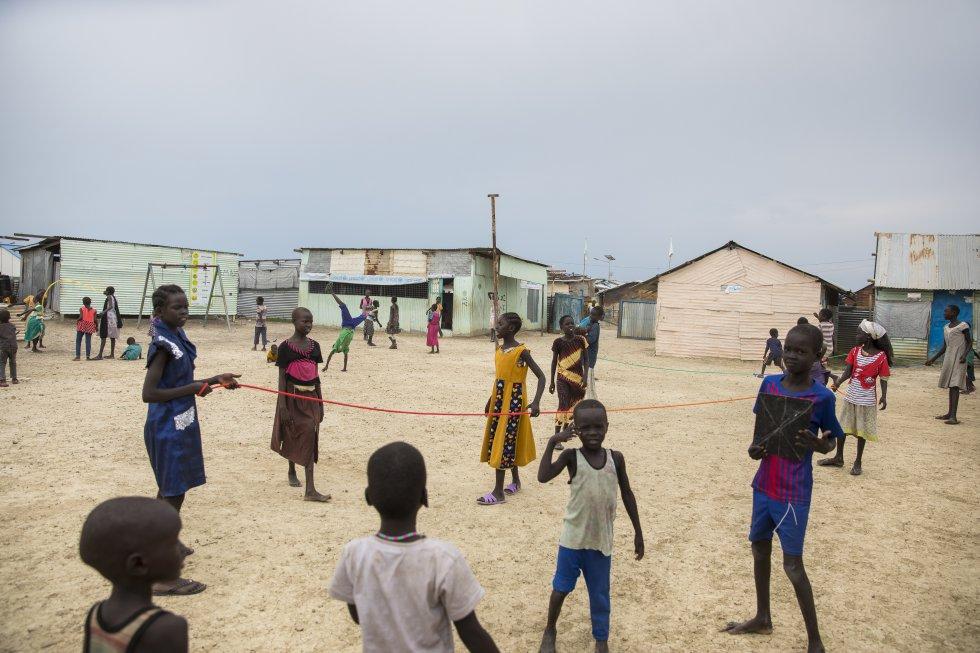 Училище в Малакал, Южен Судан. Снимка: УНИЦЕФ