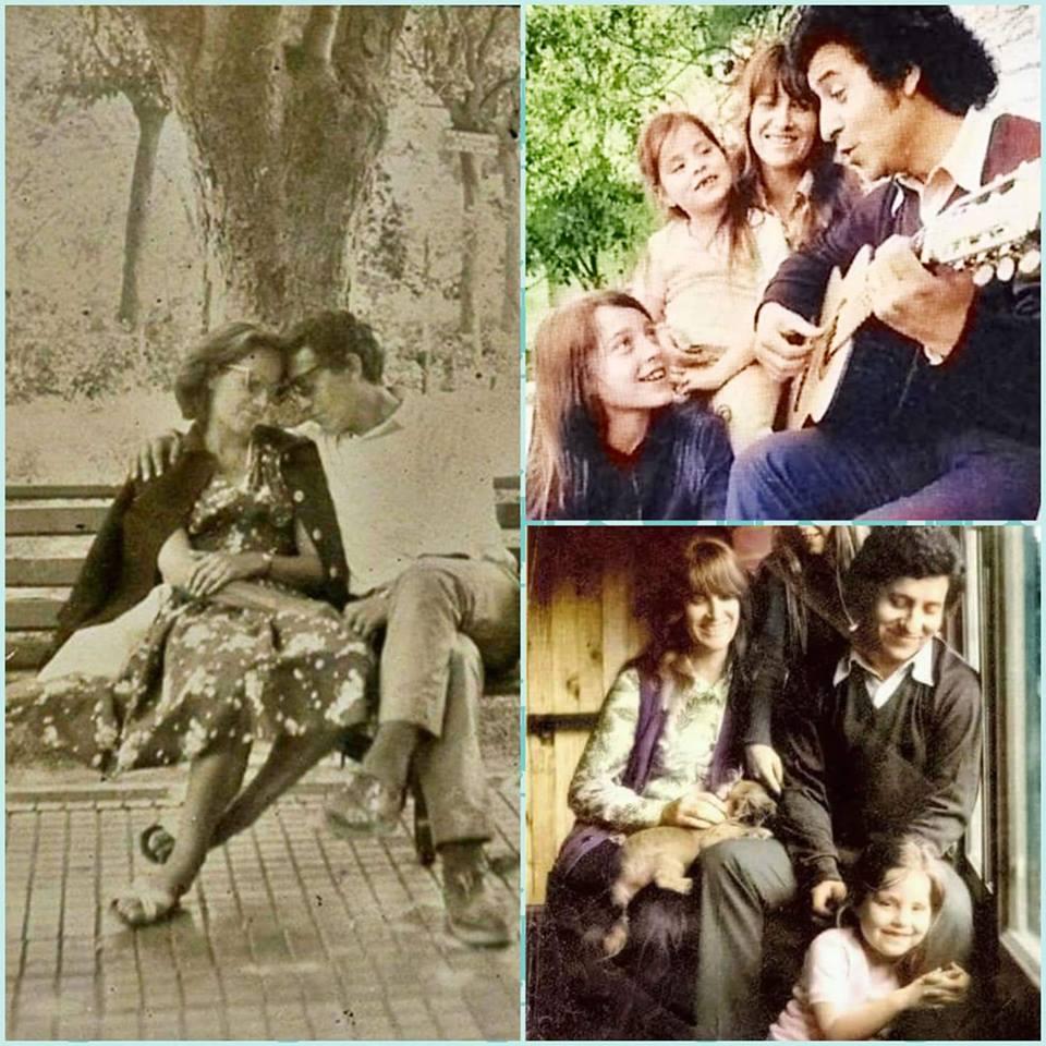 Кадри от щастливите години на Джоан и Виктор. Снимка: Фейсбук