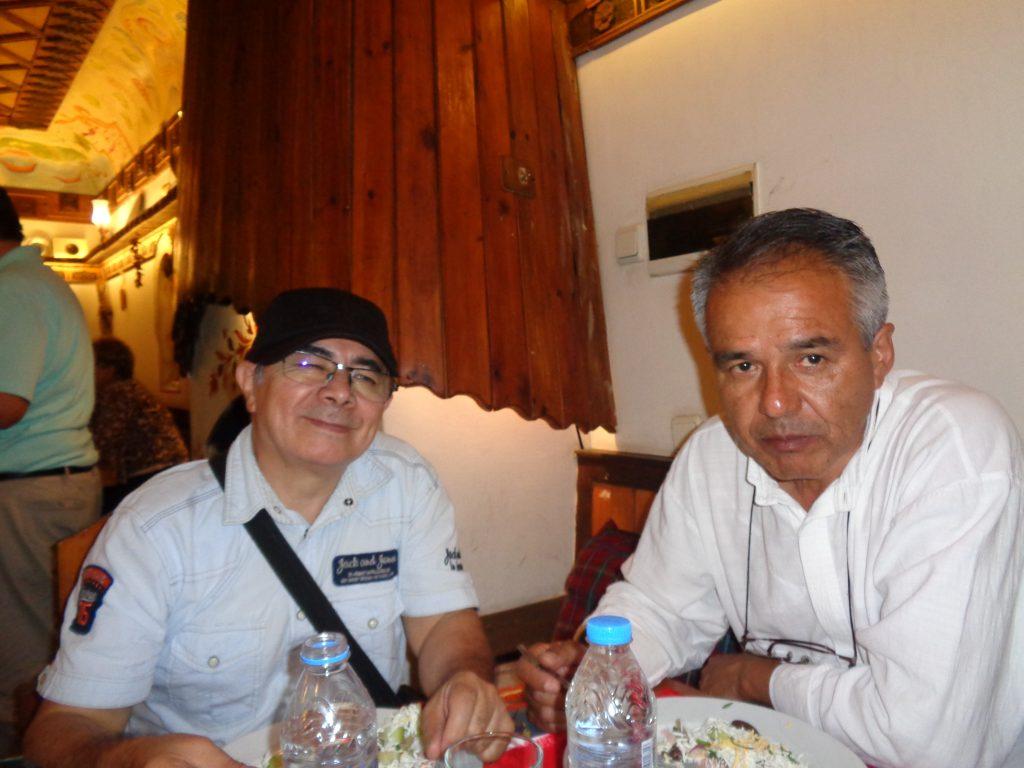 Родолфо Санони Гомес (вляво) и Диего Ендара. Снимка: Къдринка Къдринова