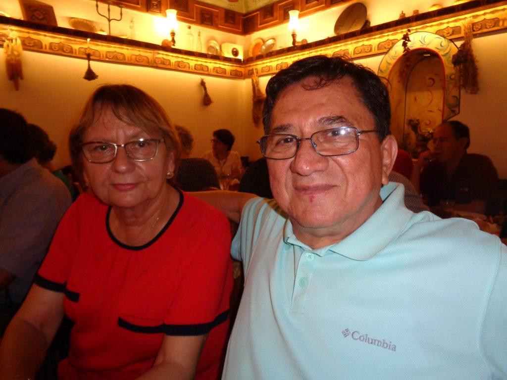 Федерико Родригес от Хондурас и унгаро-руската му съпруга Екатерина Пантелеева-Родригес. Снимка: Къдринка Къдринова