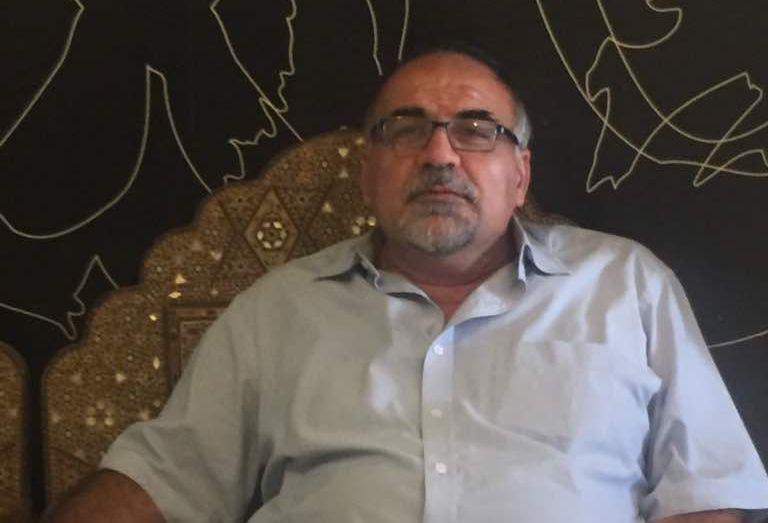 """Селман Абделла, предприемач, директор и съсобственик на завода """"Орас"""" в град Хомс. Снимка: личен архив на авторката"""
