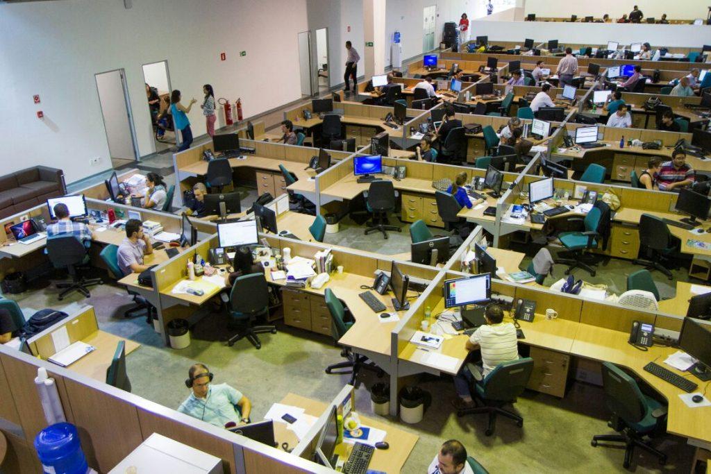 """Департаментът на """"Семаден"""" за научни изследвания, в който работи и авторът Даниел Методиев. Снимка: Cemaden"""
