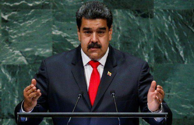 Николас Мадуро по време на печта си пред Общото събрание на ООН. Снимка: Resumen Latinoamericano