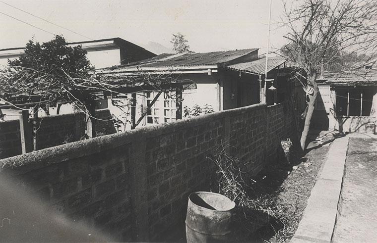 """В тази изоставена къща са били застреляни активистите на Патриотичния фронт """"Мануел Родригес"""", сред които и Валенсуела Леви. Снимка: Museo de la Memoria"""