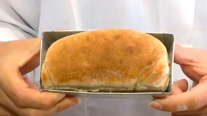 Така изглежда направеният от бразилските експериментатори хляб, в който 10% от брашното е получено от смлени хлебарки. Снимка: FURG
