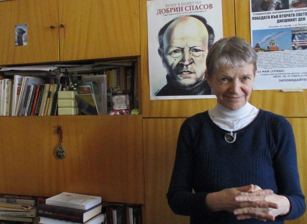 """Искра Баева: """"За съжаление, спорът вътре в БСП """"Орбан или Корбин"""" се решава повече в полза на авторитариста Орбан"""". Снимка: Къдринка Къдринова"""