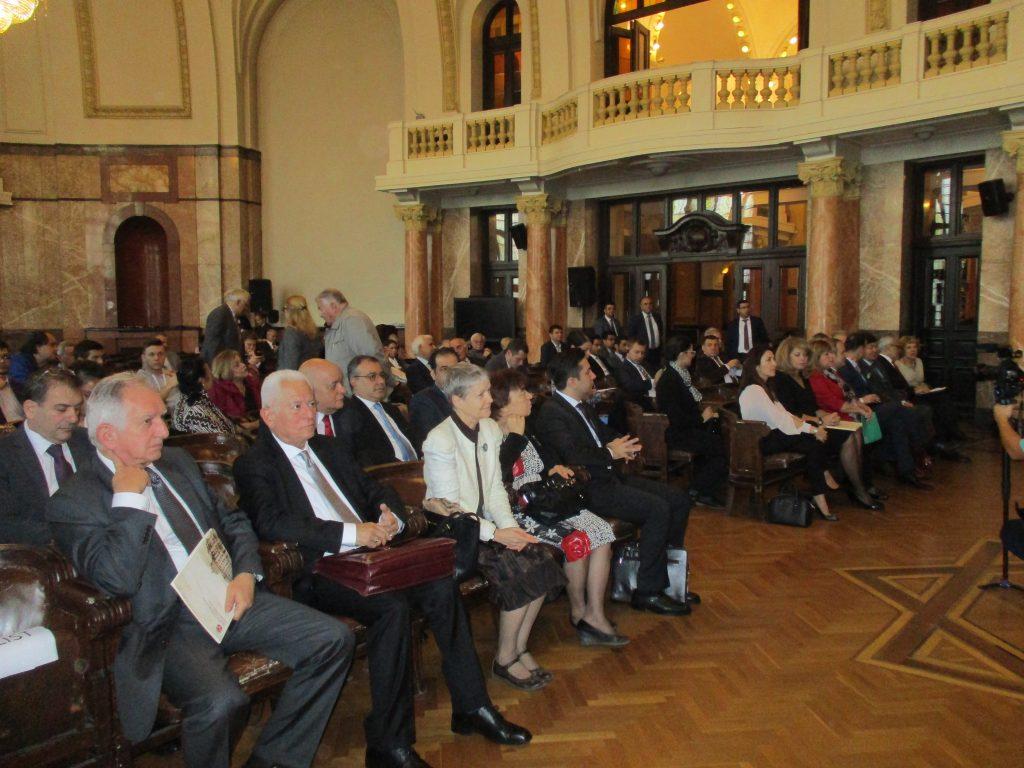 В залата на конференцията. Снимка: Къдринка Къдринова